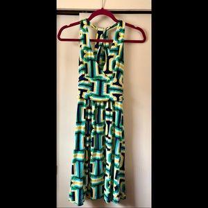 Small Multi-Colored Casual Dress